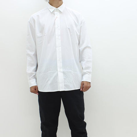 Hugo By Hugo Emilton Shirt White - Pilot Netclothing