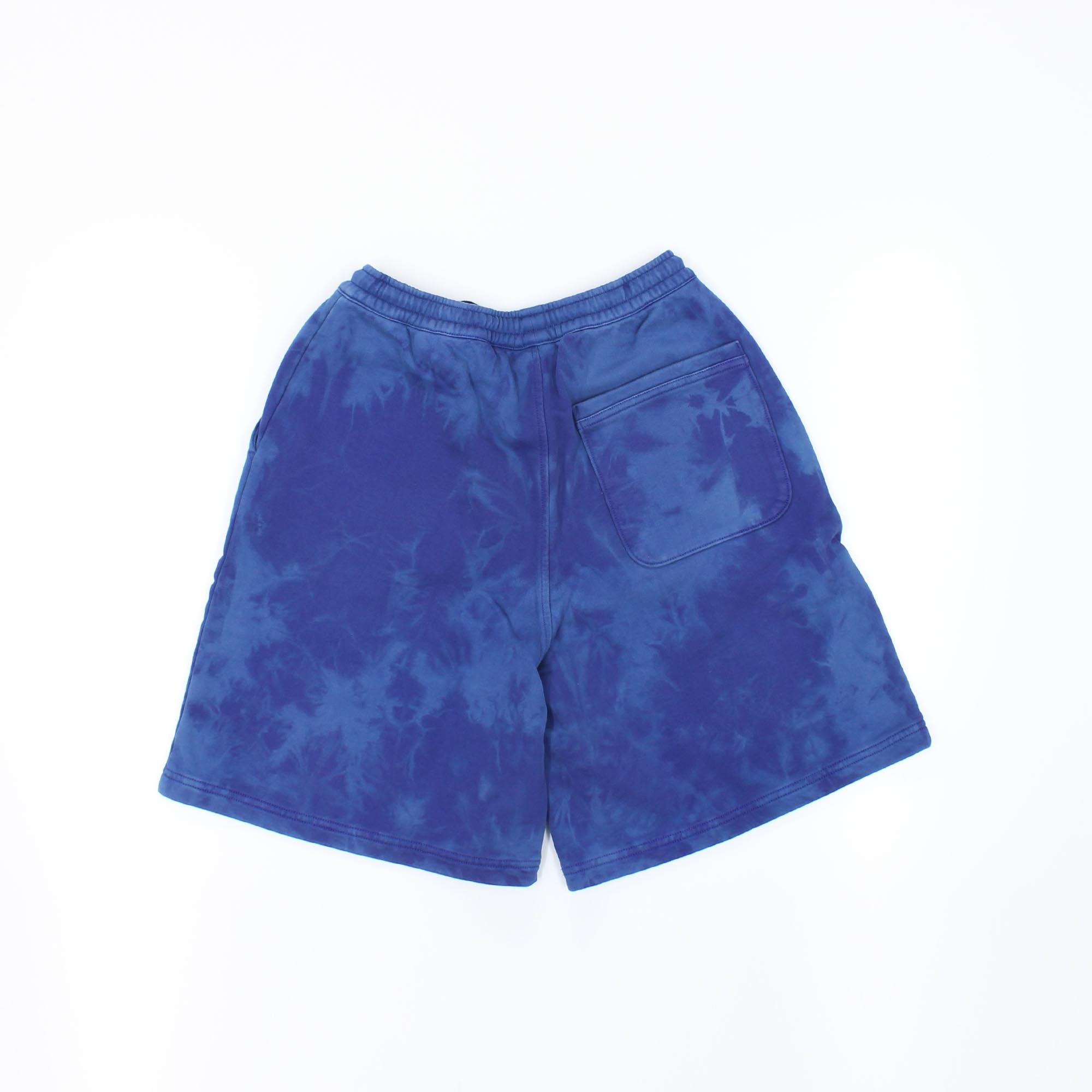 Adidas Originals Tie Dye Shorts Blue