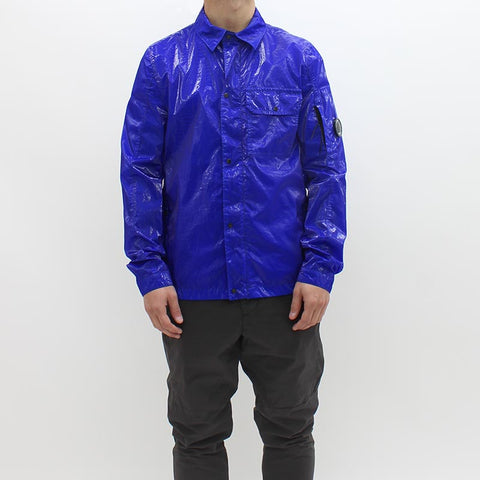 CP Company Toffee Wrapper Over Shirt Blue - Pilot Netclothing