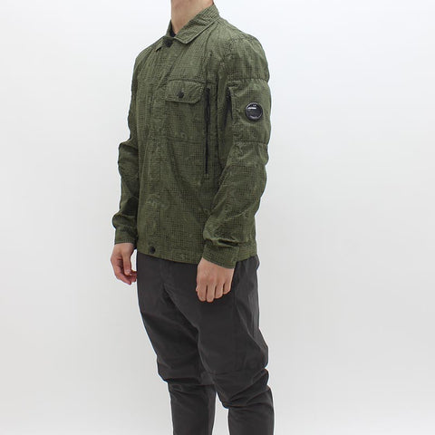 CP Company Over Shirt Green - Pilot Netclothing