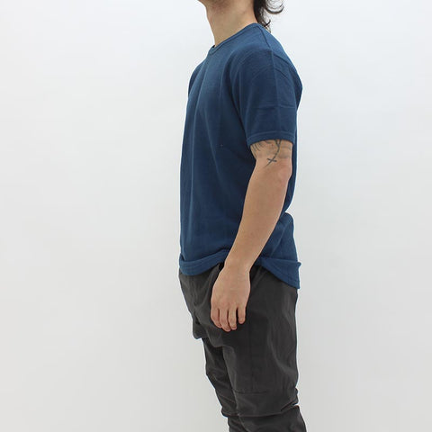 Samsoe And Samsoe Guy Tee Blue - Pilot Netclothing