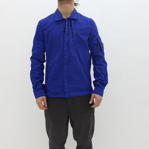 CP Company Fili Over Shirt Blue - Pilot Netclothing
