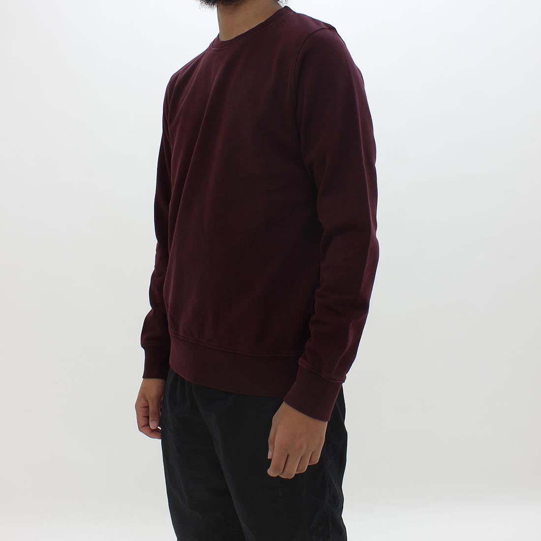 Colorful Standard Classic Organic Crew Burgundy