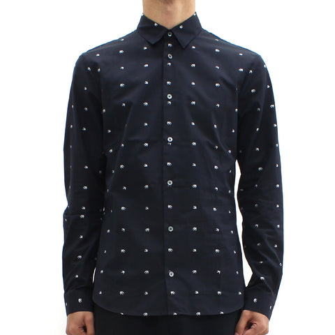 Swallow By McQ Googe Shirt Black - Pilot Netclothing