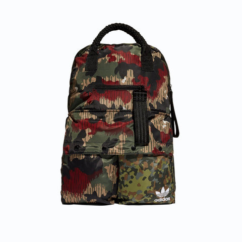 Mens - Adidas Originals Hu Hiking Backpack Camo CY9950