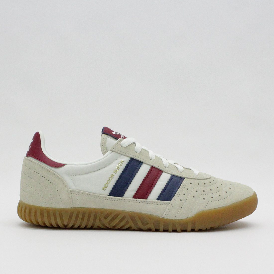 adidas originals indoor super trainers in white