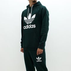 Adidas Originals Trefoil Hooded Sweatshirt Green