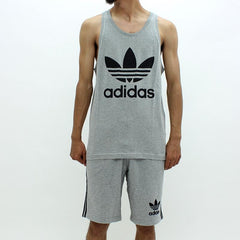 Adidas Originals Trefoil Vest Grey