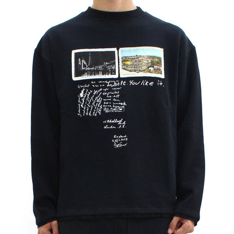 Mens - Blood Brother Hope Sweat Black