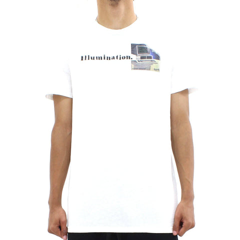 Mens - Blood Brother Illumination Tee White