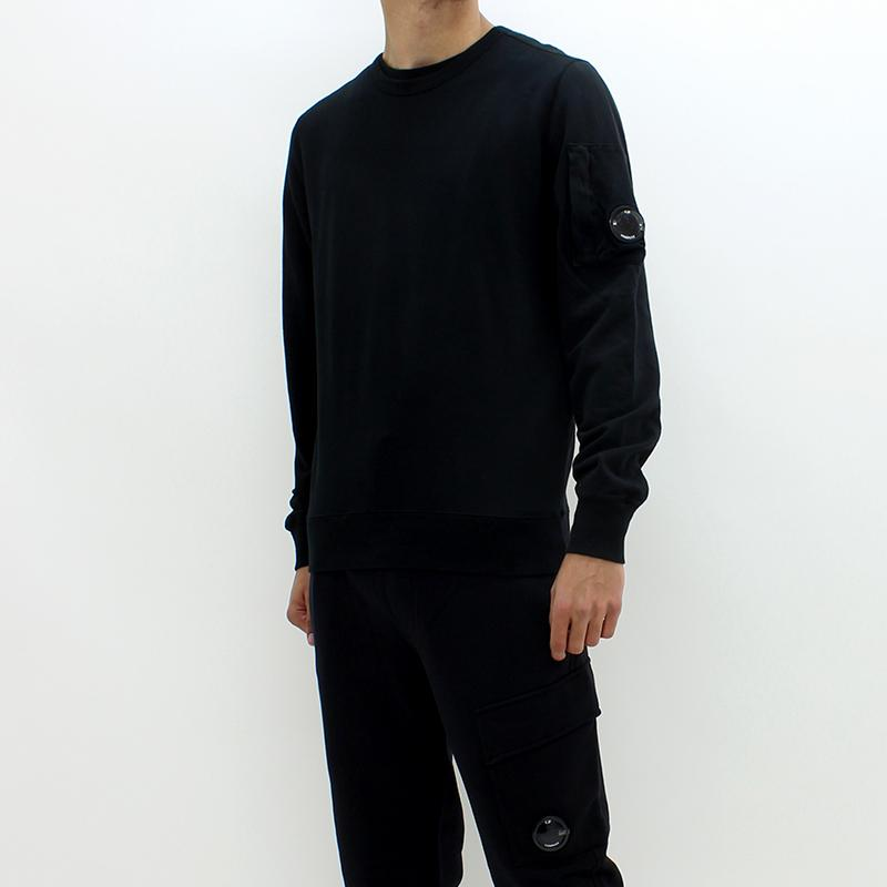 CP Company Hooded Sweatshirt Black