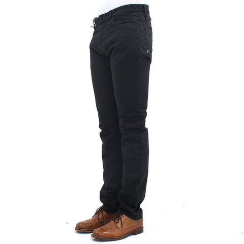 Mens - Denham Razor PSC  5 Pocket Chino Charcoal