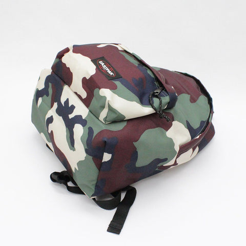 Mens - Eastpak Camo Ruck Sack Green