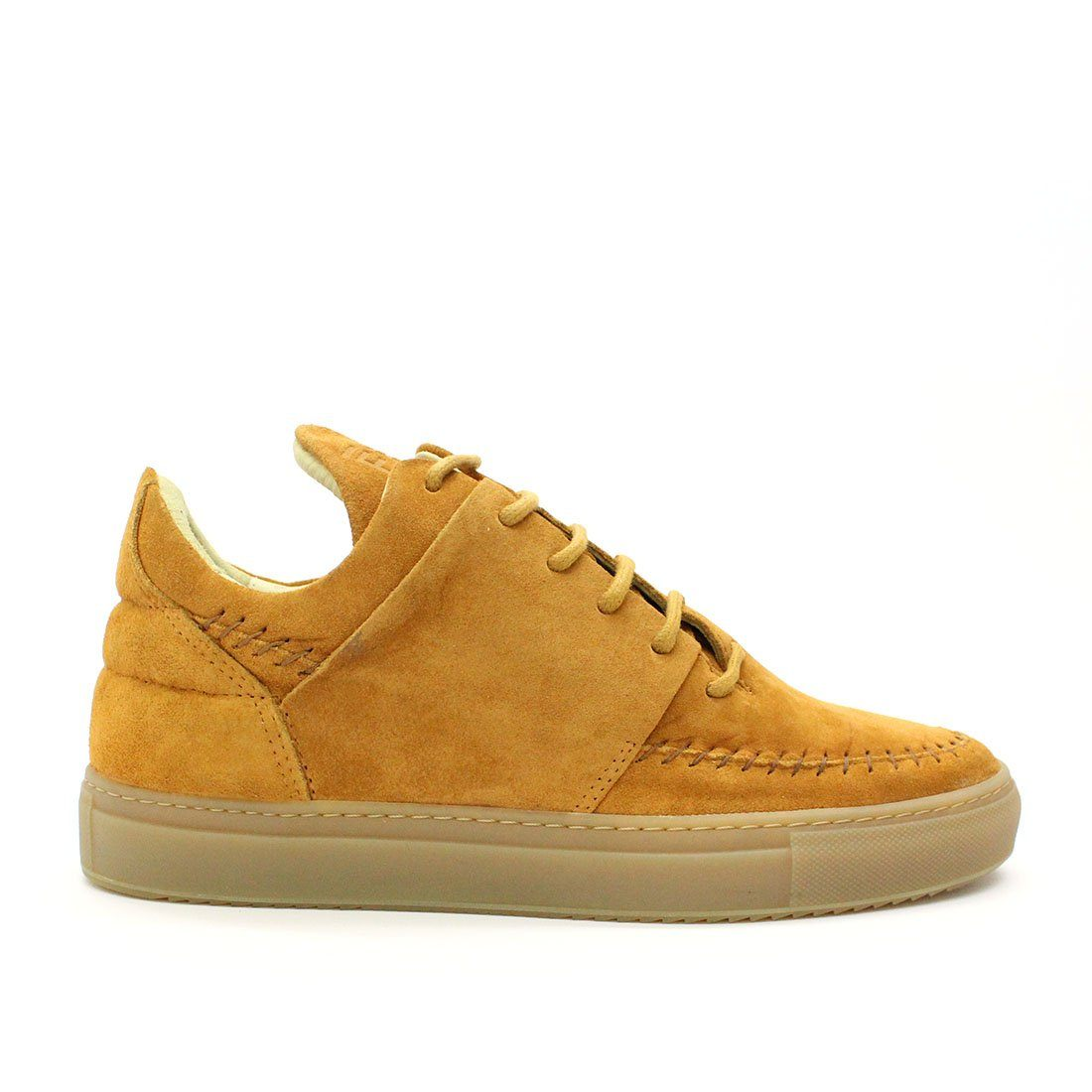 Filling Pieces Low Apache Suede Cognac