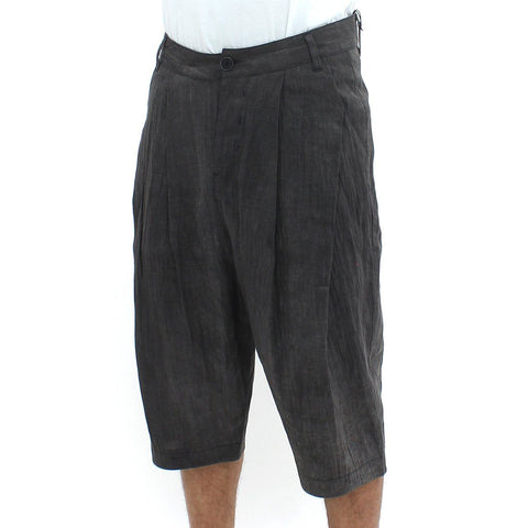 Mens - Hannibal Contrast Warm Long Shorts Black