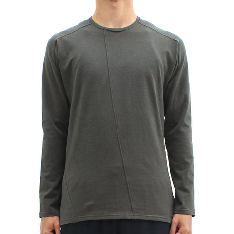 Mens - Hannibal Cut And Sew LS Tee Green