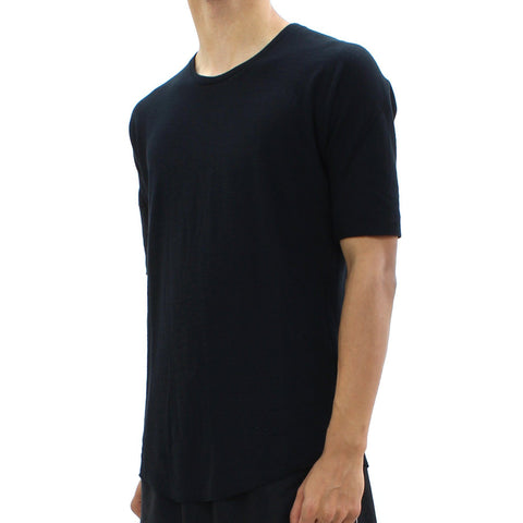 Mens - Hannibal Thin Cotton Classic Tee Black