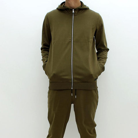 Mens - Hugo By Hugo Boss Durphy Hooded Track Top Green