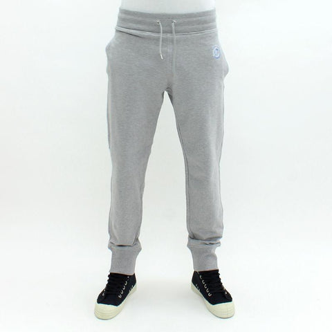 Mens - Love Moschino Embroidered Peace Logo Sweatpants Grey