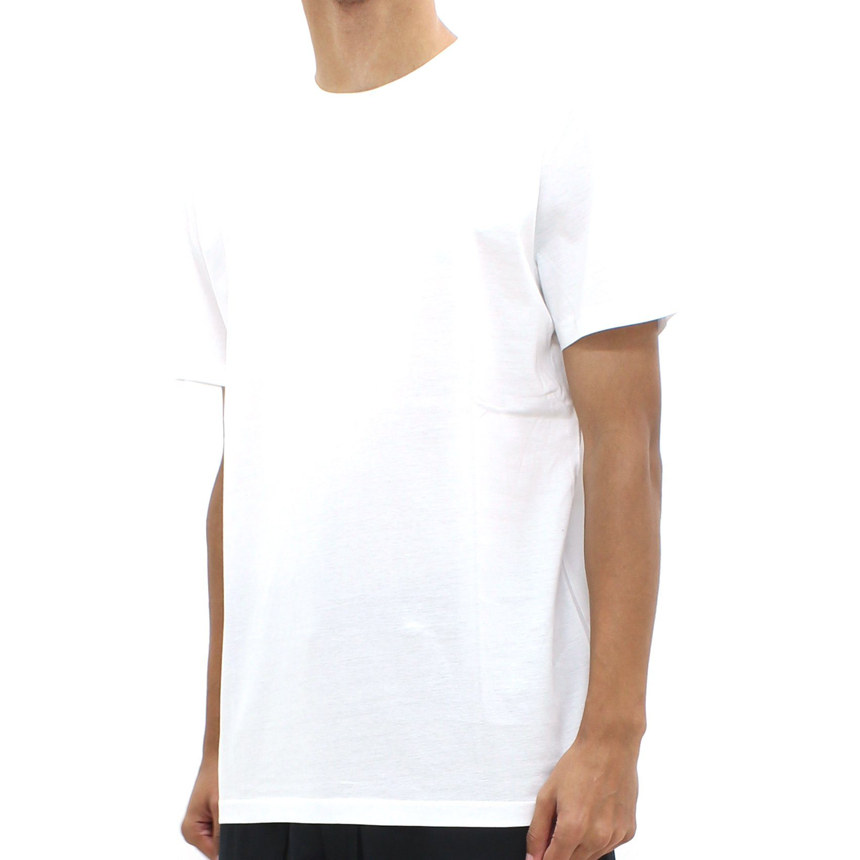 Low Brand Back Pocket Tee White