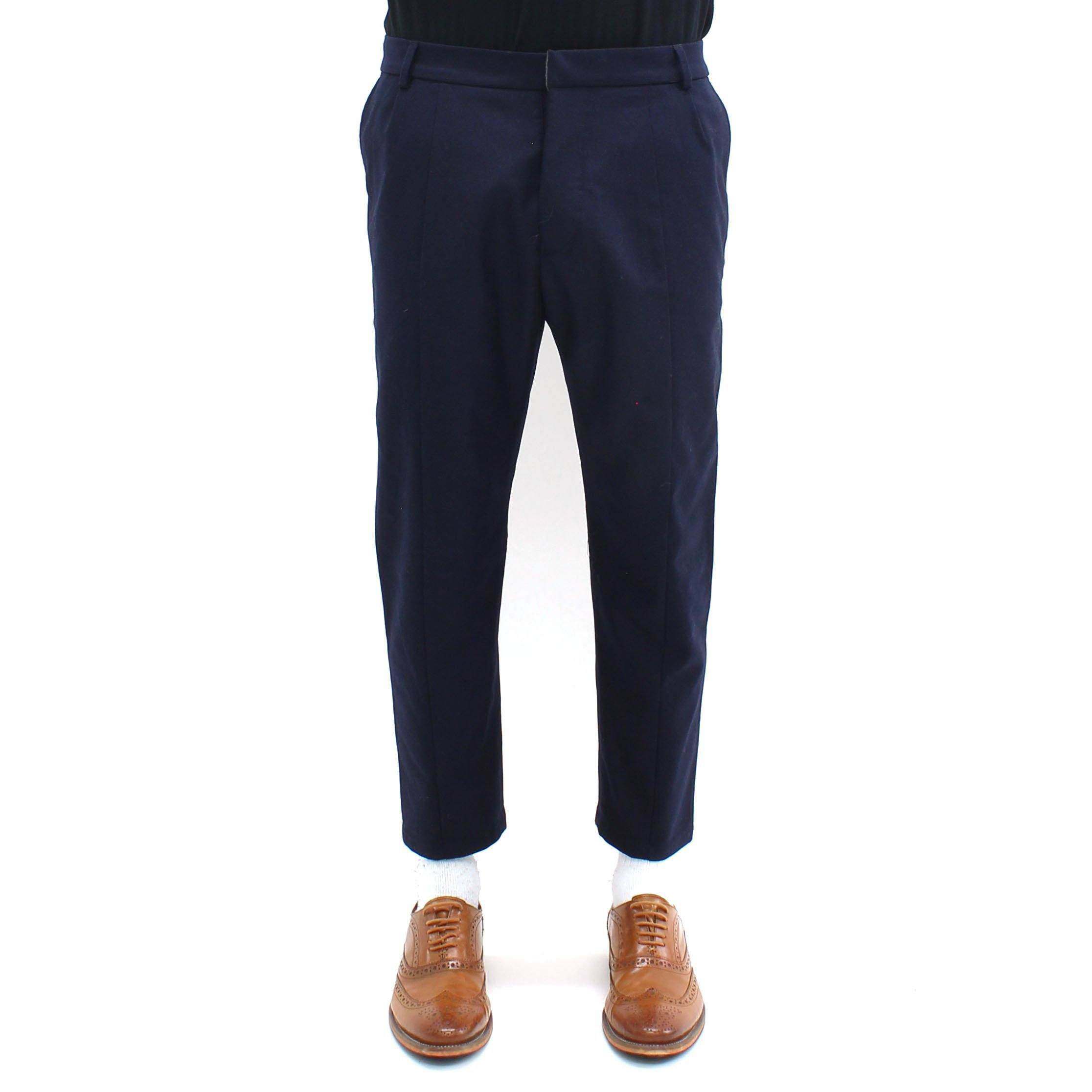 LOW BRAND Cropped tapered trousers pII0AxDfy