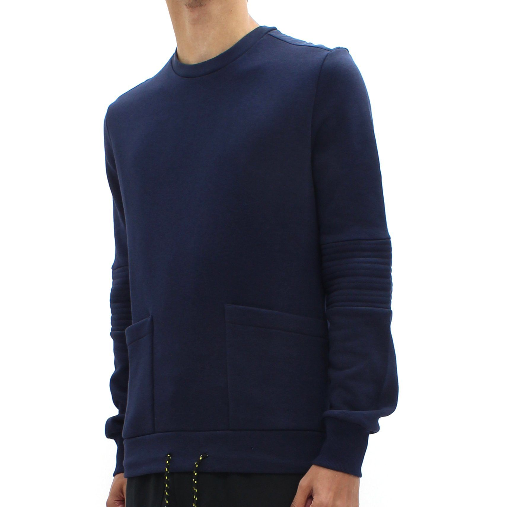 Low Brand Draw String Sweatshirt Blue