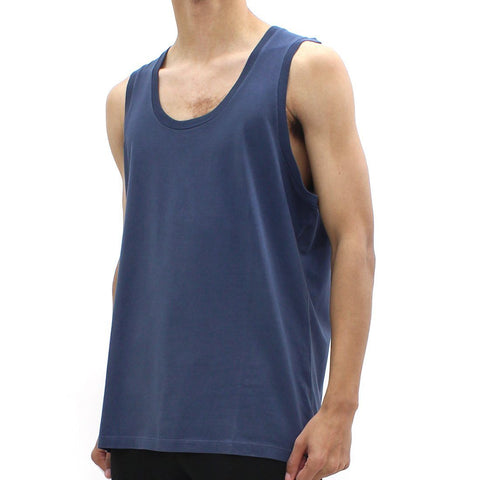 Mens - Neil Barrett Abstract Bolt Tank Navy