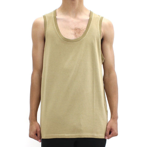 Mens - Neil Barrett Abstract Bolt Tank Tan