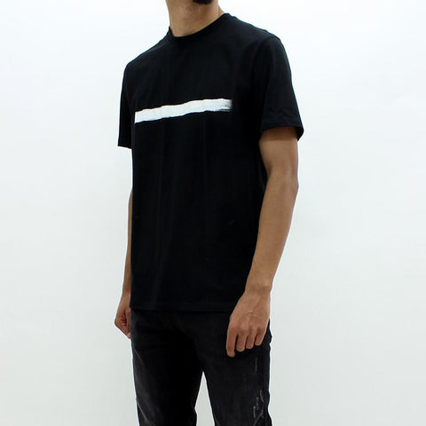 Mens - Neil Barrett Line Through SS Tee Black