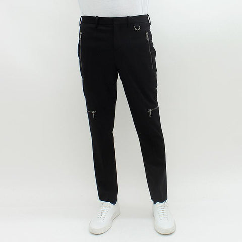 Mens - Neil Barrett Zipped Trouser Black