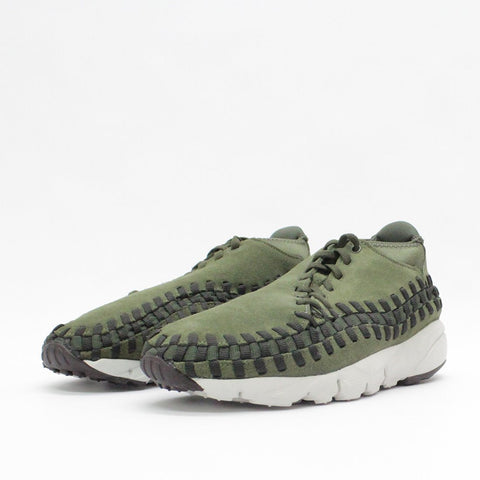Mens - Nike Air Footscape Woven Chukka Khaki 443686 300