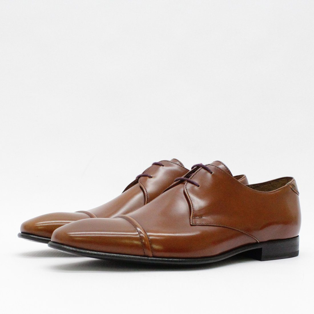 Paul Smith Shoes Derby High Shine Tan