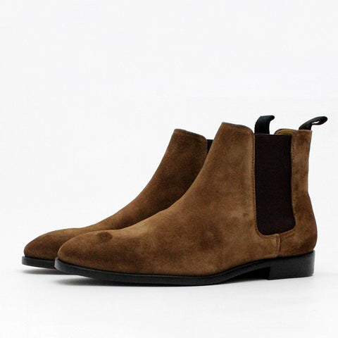Mens - Paul Smith Shoes Gerald Suede Camel Brown
