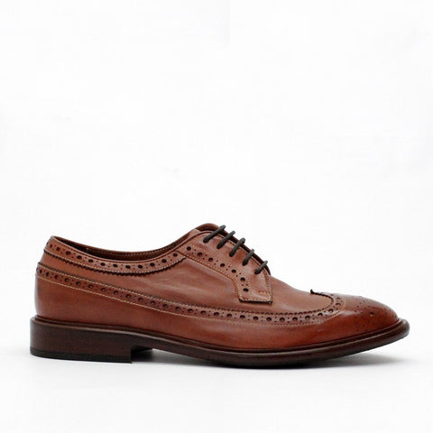 Mens - Paul Smith Shoes Malloy Brogue Choc Brown