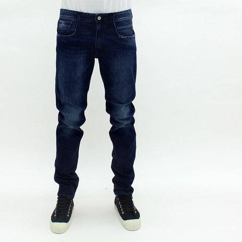 Mens - Replay Jeans Anbass Easy Stretch Jean Denim