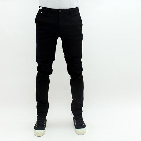 Mens - Replay Jeans Hyperlflex Chino Edition Trouser Black