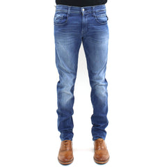 Replay Washed Light Hyperflex Jeans Denim