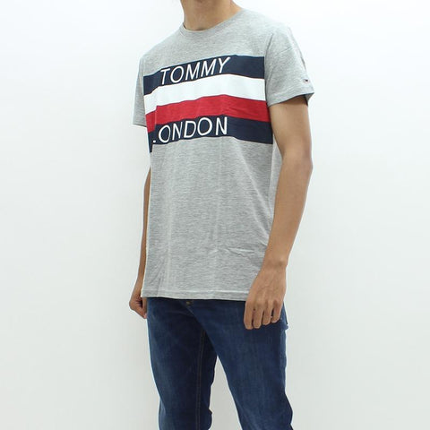 Mens - Tommy Hilfiger Denim THDM City CN Tee Grey