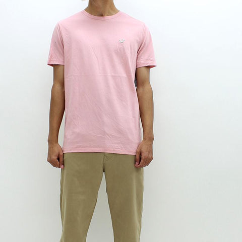 Mens - True Religion Chalk Badge Tee Pink