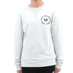 True Religion Crafted With Pride Sweat Grey