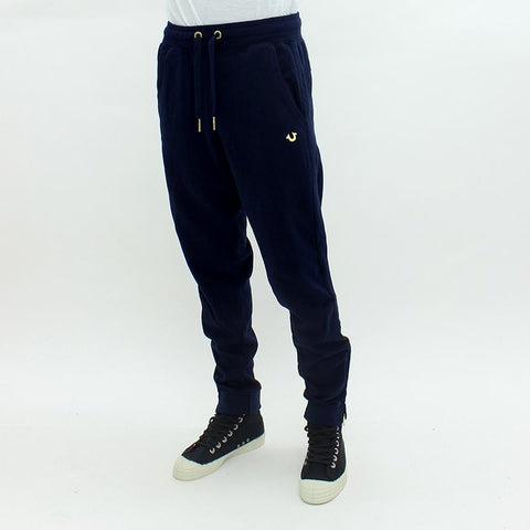 Mens - True Religion Metal Logo Sweatpants Navy