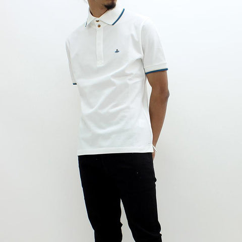 Mens - Vivienne Westwood Classic SS Polo White