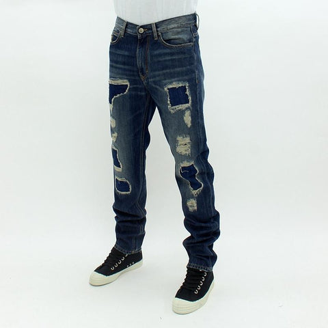 Mens - Vivienne Westwood Classic Tapered Jeans Denim
