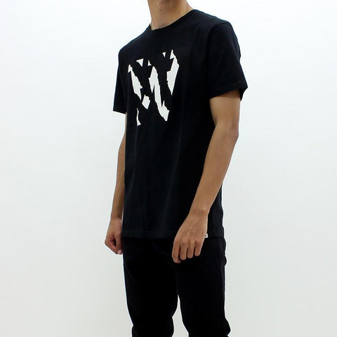 Mens - Wood Wood AA Two Tone Tee Black