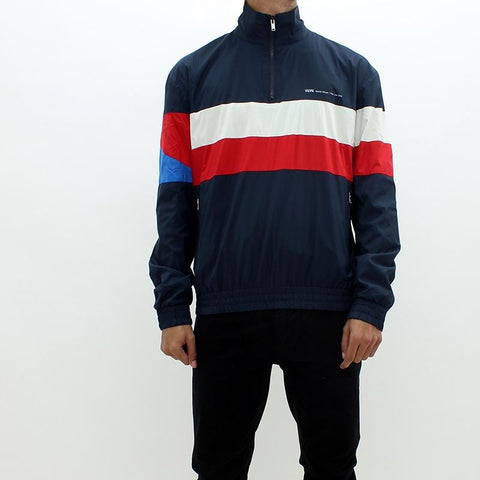 Mens - Wood Wood Holborn Track Jacket Navy