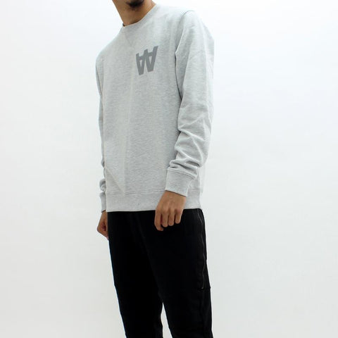 Mens - Wood Wood Houston Sweatshirt Grey