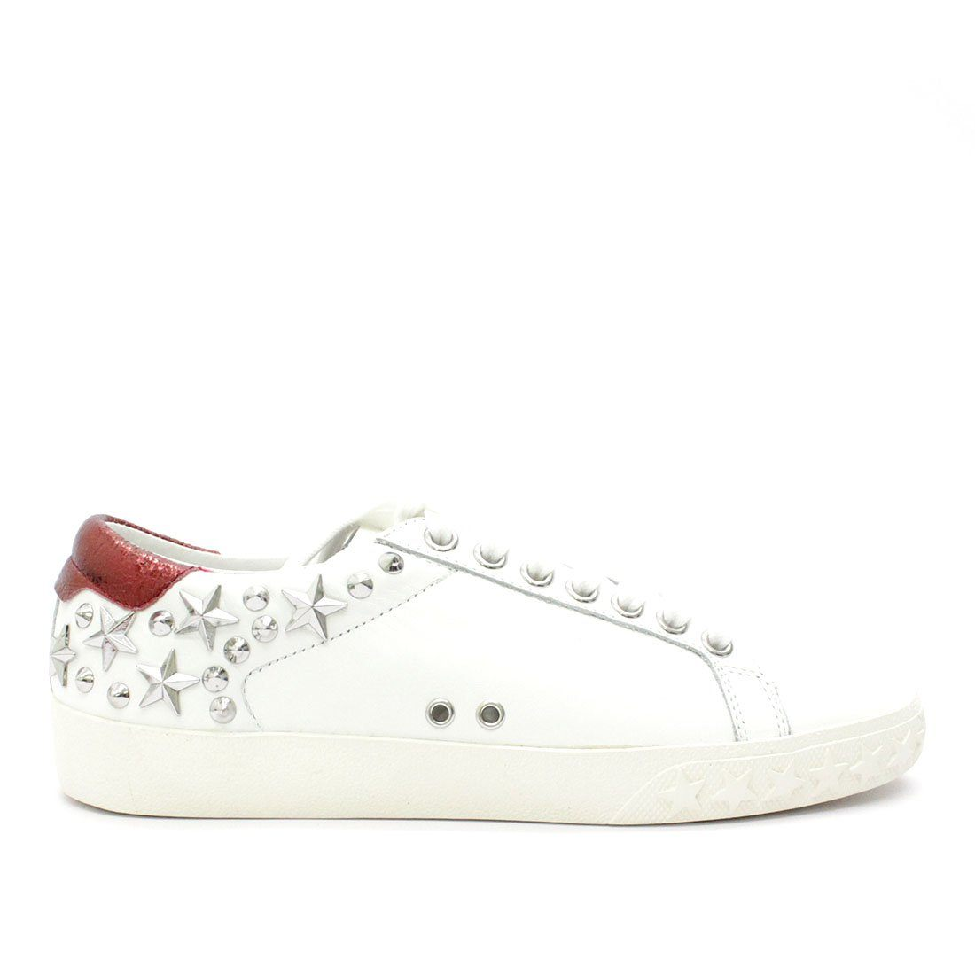 Ash Dazed Studded Sneaker White