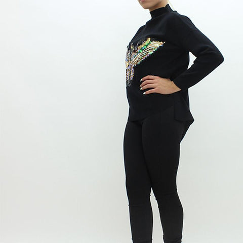 Womens - Forever Unique Agnes Jumper Black