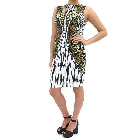 Womens - Forever Unique Animal Print Bodycon Dress