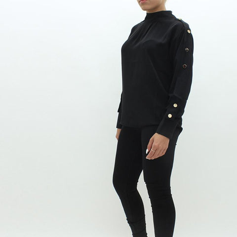 Womens - Forever Unique Daphne Shirt Black